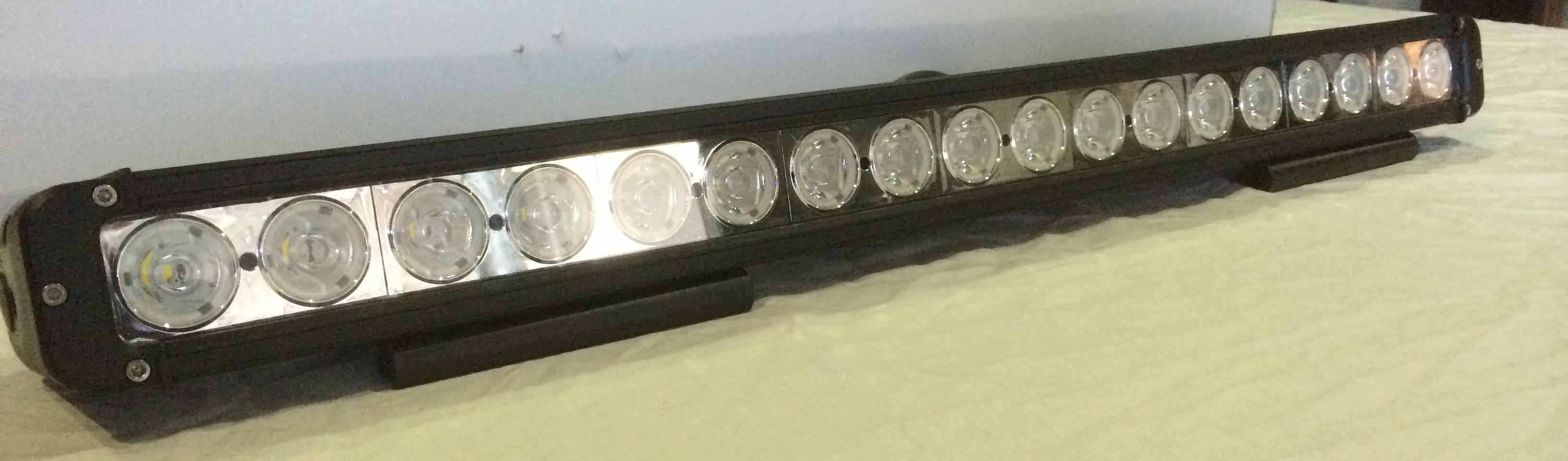 180 watt Cree LED Single Row Light Bar
