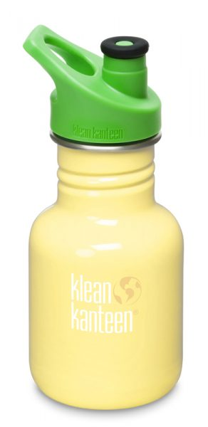 12oz (355ml) Kid Kanteen Sport Cap- Sunshine Yellow Colour