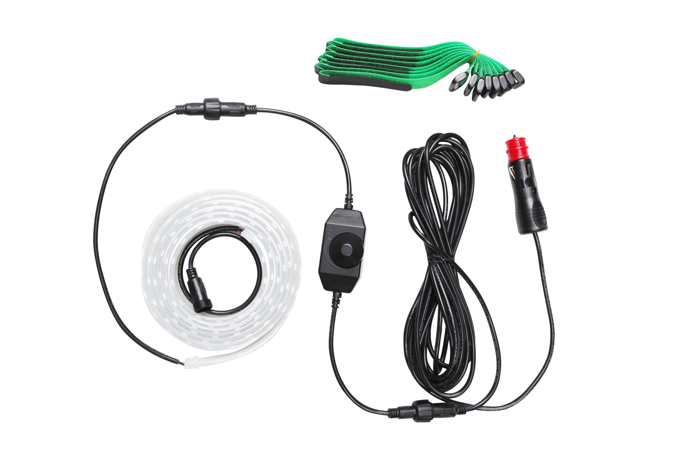12v 2m LED Strip Light Kit
