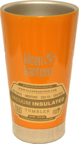 16oz (473ml) Insulated Tumbler- Canyon Orange