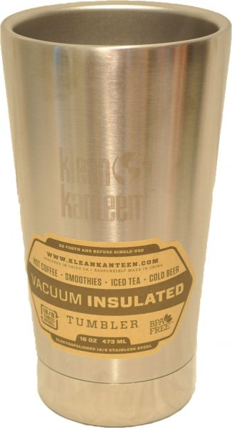 16oz (473ml) Insulated Tumbler- Stainless