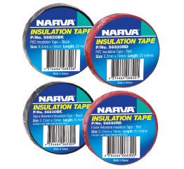 1x Roll Electrical Insulation Tape - 20m - Black