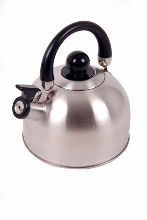 Stainless Steel Whistling Kettle - 2500ml