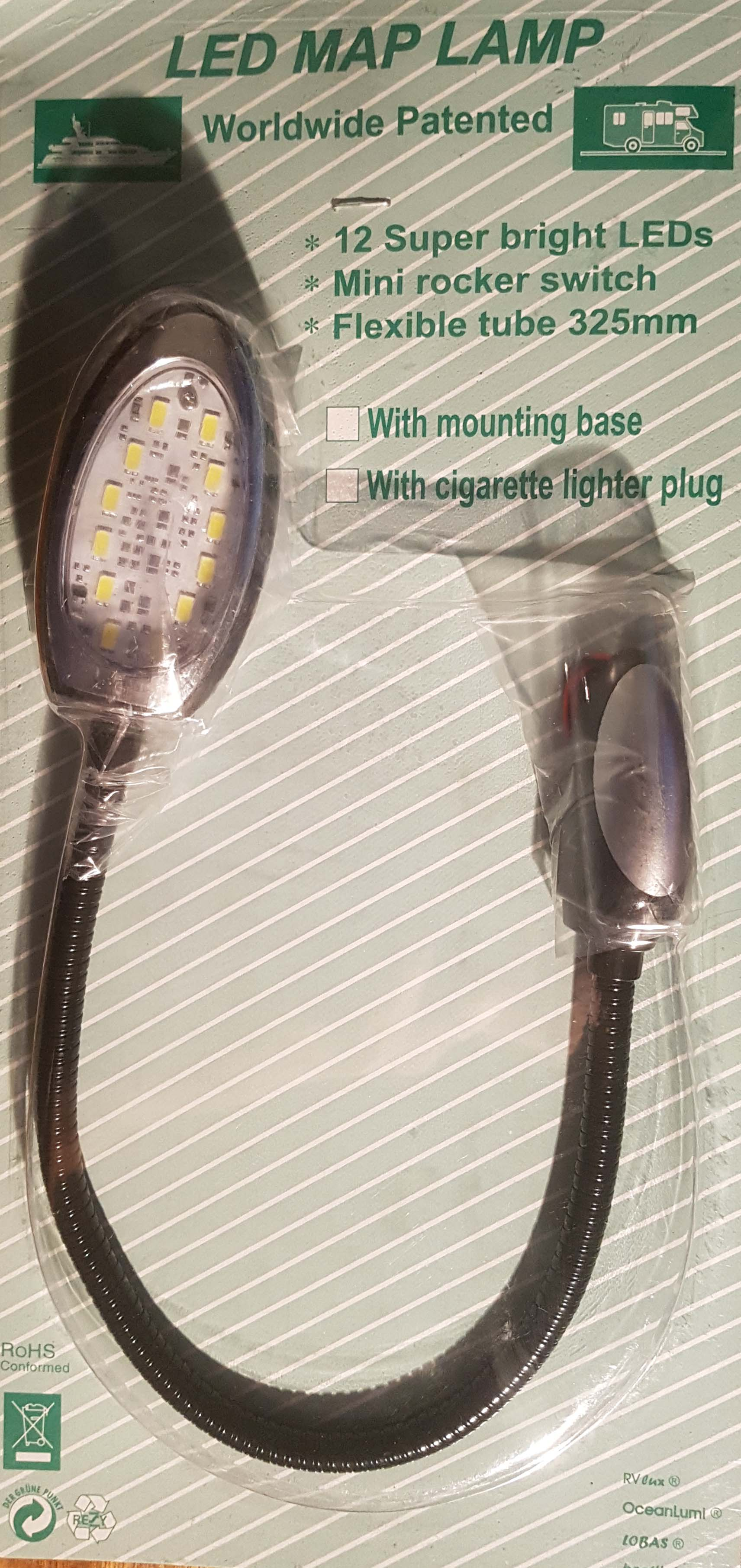 12v LED Map light - hardwired