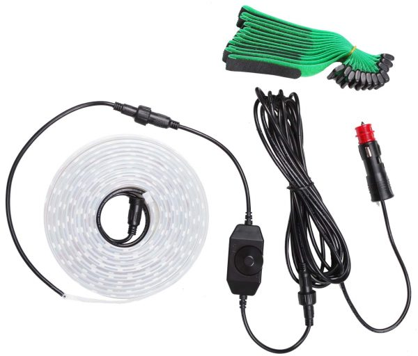 12v 4m LED Strip Light Kit