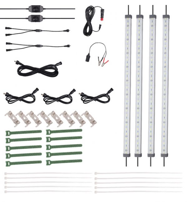 12v 4x Bar LED Strip Light Kit