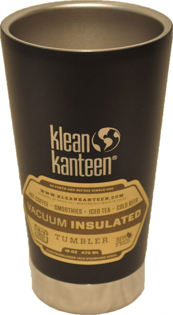 16oz (473ml) Insulated Tumbler- Shale Black