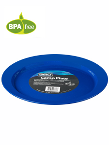 360 Degrees Plastic Camp Plate