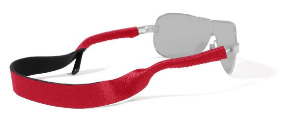 Croakies Basic Solid - Glasses Retainer - Red