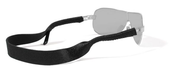 Croakies XL Solid - Glasses Retainer - Black