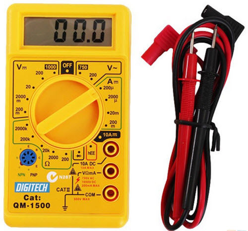 Digitech QM-1500 Multimeter